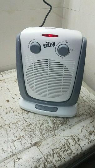 百乐富(BAILEFU) 百乐富家用节能取暖器办公室取暖机迷你暖风机两用电暖气取暖电热扇 晒单图