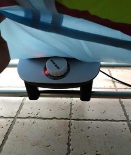 干衣机家用可折叠大容量烘干机婴儿宝宝衣服烘衣机静音节能速干衣架杀菌除螨烘鞋机摇控定时风干机烘干器包邮 小蛮腰触屏可折叠(蓝色) 晒单图