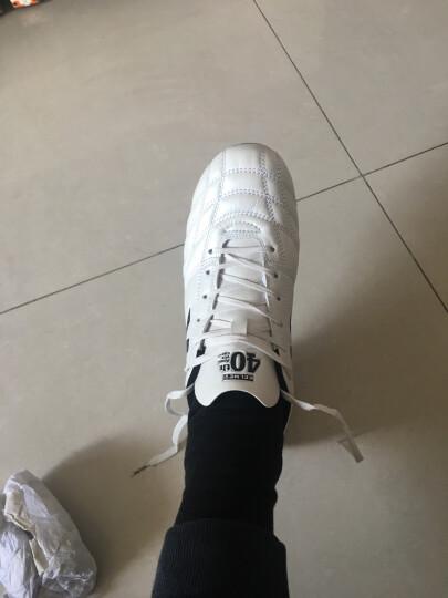 KELME卡尔美足球鞋袋鼠皮AG短钉鞋K91 珍珠白 41 晒单图