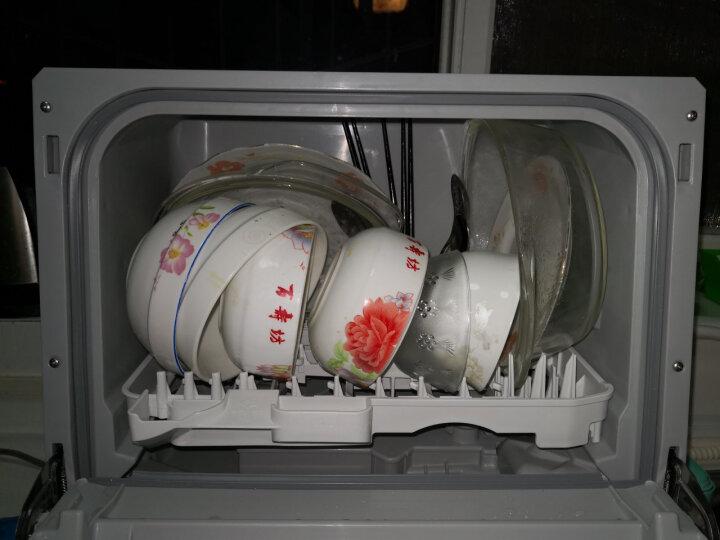 松下(Panasonic)洗碗机 360°清洗 灵巧身材 精灵台式 非柜式 NP-TCB1WECN 晒单图