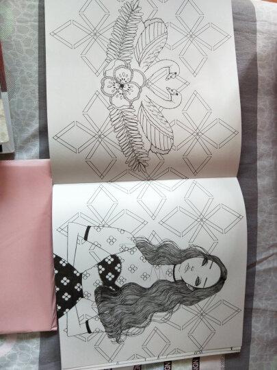女孩的梦想——唤起少女情怀的时尚美妆涂色书 晒单图