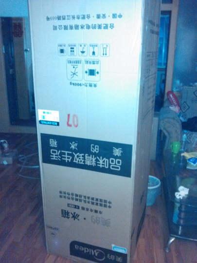 美的(Midea)206升 时尚三门三温冰箱 日耗电0.49度 HIPS环保内胆 闪白银 BCD-206TM(E) 晒单图