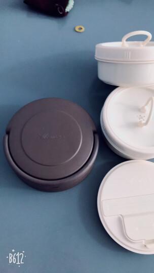 华亚(WAYA)304不锈钢大容量保温桶学生保温饭盒提锅2.3L 金色 晒单图