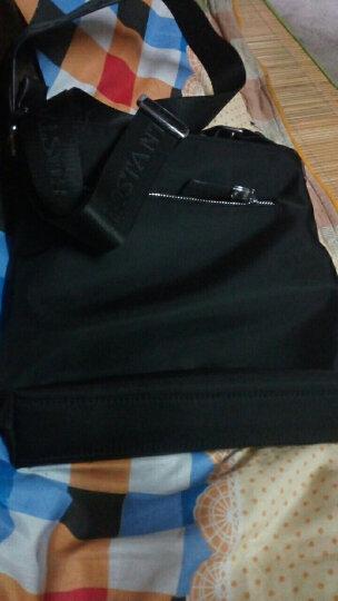 波斯丹顿单肩包尼龙布男士商务休闲斜挎包B10951黑色 晒单图