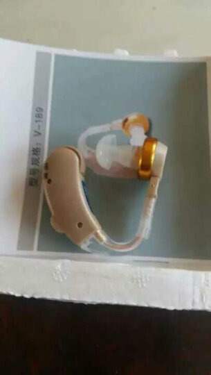 宝尔通 V-189 助听器 免充电 老年人老人耳背式无线隐形助听器 中重度弱听人士 耳挂式 标配 + 充电套餐 晒单图