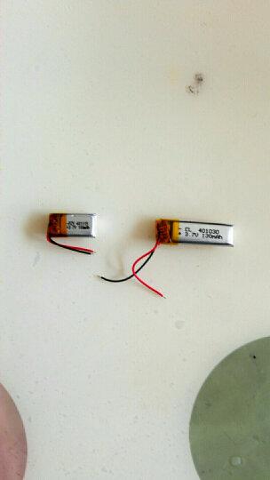 3D眼镜电池蓝牙耳机401020微型智能手环充电3.7v聚合物电芯大容量 晒单图