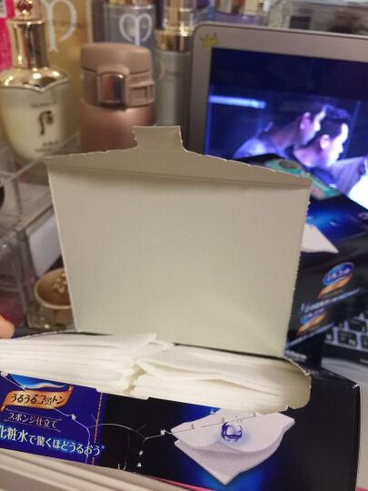 尤妮佳(Unicharm)无 舒蔻化妆棉 补水超薄型 40片 4盒组【官方进口】 晒单图