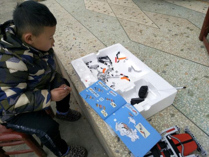 积木玩具乐高式科技机械组拼插拼装车系列儿童益智玩具男孩女孩小孩宝宝生日六一儿童节礼物6-8-10岁 双拼系列 - 战火 晒单图