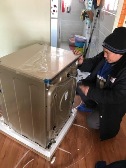 卡萨帝(Casarte)洗衣机8公斤高温智能滚筒洗衣机全自动家用 香槟金 C1 U8G3单筒【8公斤+直驱变频电机+下排水】 晒单图