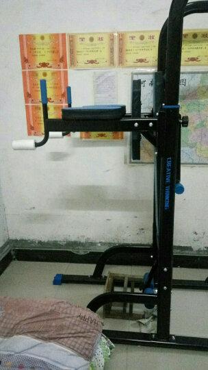 创思维 单双杠引体向上器运动锻炼室内家用多功能单杠双杠二人站综合训练健身器材组合套装 9008升级款带仰卧板 晒单图