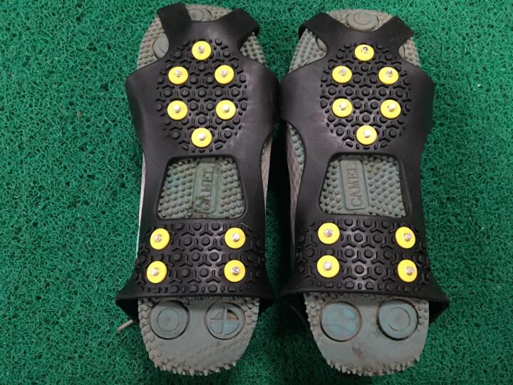 ROCKY TRIP 防滑冰爪 防滑鞋套雪地冰面雪爪10齿鞋 户外装备 黑色 M(36-41) 晒单图