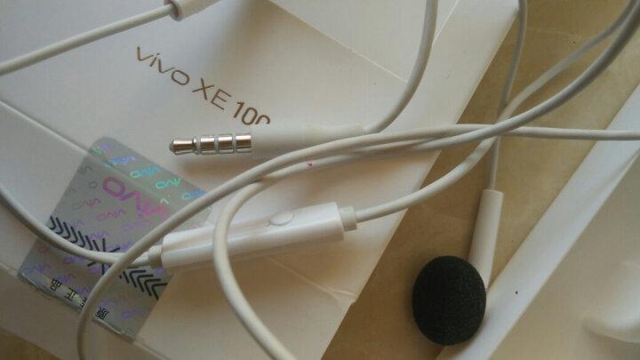 【原装】vivo耳机正品手机耳塞X21X20X6X7X9s plus vivoy67y66z1y71 灰白色 带话筒重低音 晒单图