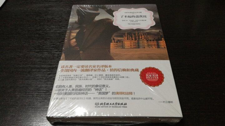 了不起的盖茨比 中文原著软精装 名家名译全译本原版外国畅销小说 晒单图