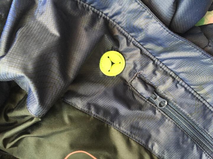 诺诗兰(NORTHLAND) 诺诗兰羽绒服男冬季户外新款灰鹅绒无缝保暖外套GD055511 火焰红色 XL 晒单图