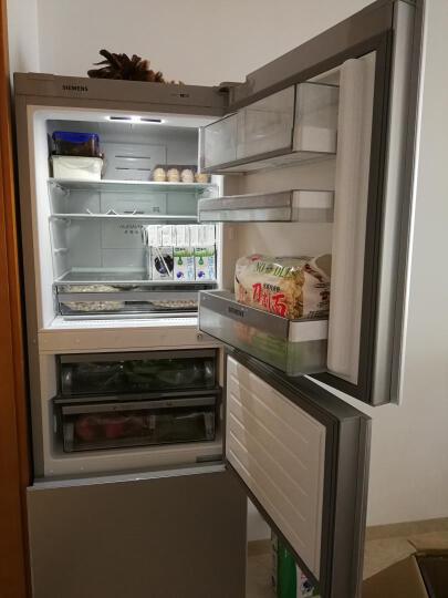 【99新】西门子(SIEMENS)风冷无霜三开门冰箱银色BCD-306W(KG32HA26EC) 晒单图