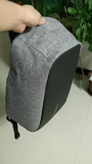 圣诞节礼物XDDESIGN蒙马特城市安全防盗背包电脑包书包生日礼物男生女生实用情人节礼物 灰色 晒单图