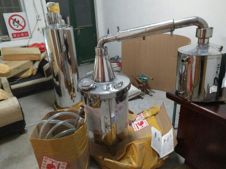 大中型白酒酿酒设备 烧酒器酒坊小型酒厂304不锈钢蒸馏设备 60型145升 平形锅底设备 晒单图