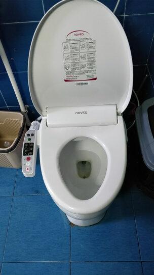 科勒旗下品牌诺维达(novita)智能马桶盖 即热式进口洁身器坐便盖板BD-K380T长款(即热式全功能) 晒单图
