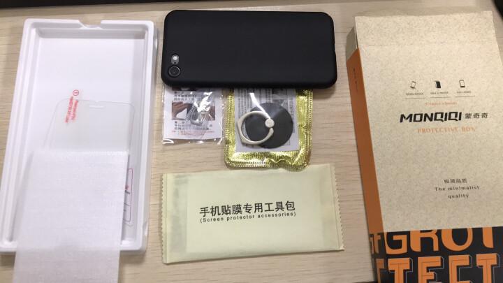 蒙奇奇 iPhone7/8手机壳手机套防摔磨砂保护壳 适用于苹果8/7plus 5.5英寸玫瑰金☆全包保护 晒单图