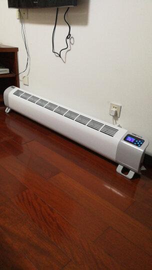 利维斯顿(ILVSD)取暖器踢脚线电暖器家用电暖气节能省电浴室暖风壁挂式 智能变频 + 手机APP+语音控制 2900W(适合15-28平米) 晒单图