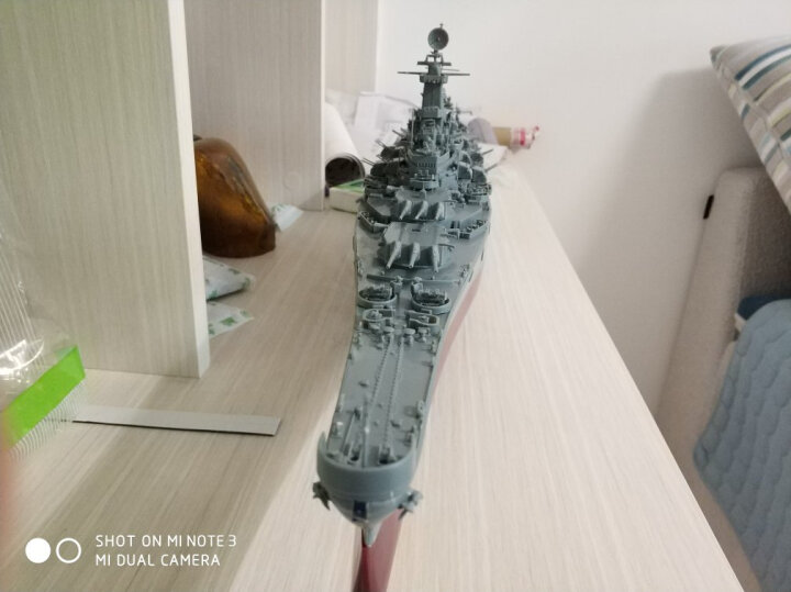 小号手拼装军舰仿真模型拼装1/350 战舰世界军舰船模俾斯麦号战列舰提尔皮茨密苏里模型船 不含模型 工具套(工具套+上色笔+5瓶油漆+胶水) 晒单图