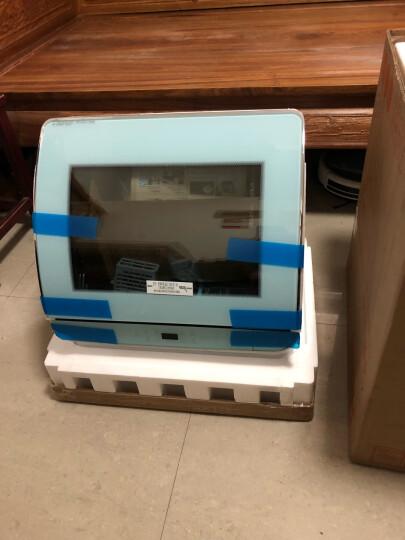 海尔(Haier)洗碗机 家用台式免安装全自动迷你小型 刷碗机 高温消毒除菌洗碗机 HTAW50STGGB蒂凡尼蓝 软水自清洁 晒单图