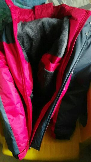 JEEP吉普 2018秋冬新款棉衣男士加绒加厚大码防风透气保暖棉服男 卡其 XL 晒单图