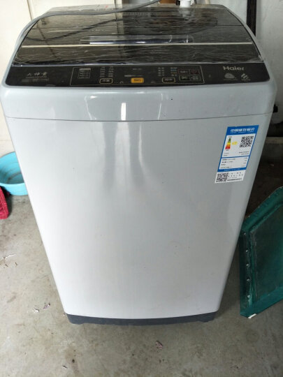 海尔(Haier) XQB80-KM12688 全自动8公斤波轮家用洗衣机大容量 晒单图