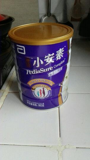 雅培(Abbott)小安素全营养配方粉草莓味(1-10岁)900克(新加坡原装进口) 晒单图