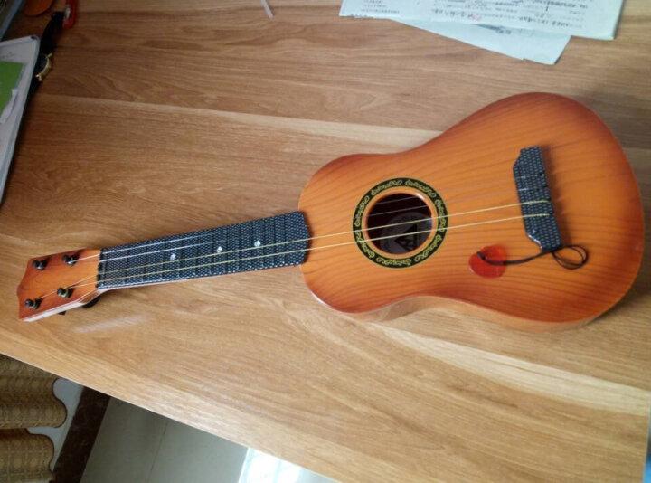 六美(LIUMEI) 尤克里里儿童小吉他民谣乌克丽丽初学者入门音乐早教玩具700 仿花梨木4弦-21寸 晒单图