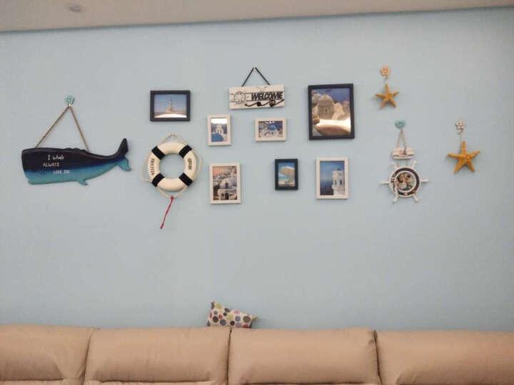爱泽宝 木制地中海风格装饰摆件挂件相框组合挂墙画框壁挂挂饰壁饰 壁挂形款 5寸 晒单图
