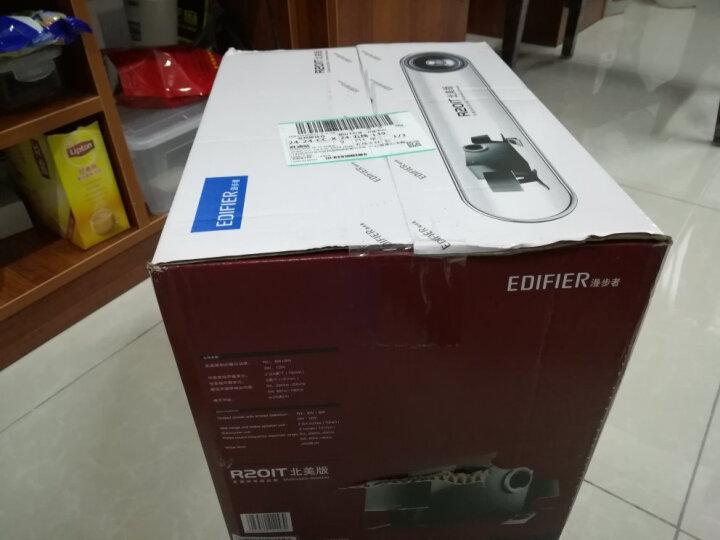 漫步者(EDIFIER) R201T12 2.1声道 多媒体音箱 音响 电脑音箱 黑色 晒单图