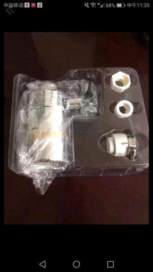 askoree 韩乐净水器家用水龙头过滤器厨房直饮机自来水净化器 原装陶瓷净化滤芯 晒单图
