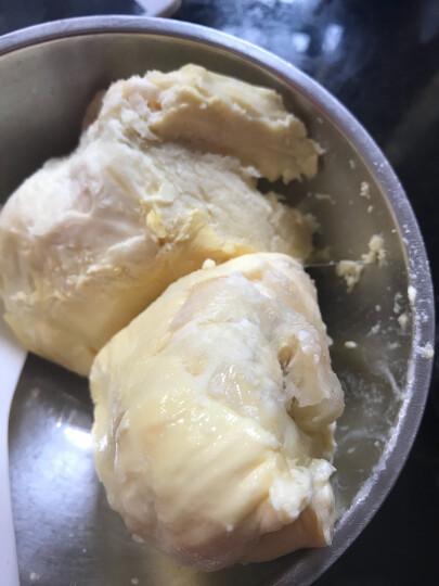 榴鲜生金枕头榴莲 泰国原装进口 新鲜冷冻榴莲果肉 热带水果 简装300g*3 晒单图