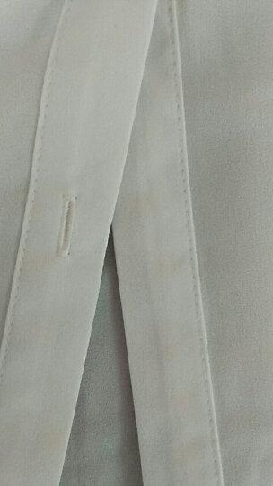 芳帛牛仔连衣裙2018夏季新款韩版chic中长款裙子背带裙短袖套装女 深蓝 XXL 晒单图