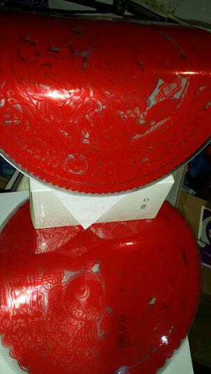 苏兹(suzy) 福字玻璃静电贴膜10张 剪纸春节节装饰品 门窗静电贴纸 窗花 家和万事兴 30*30 晒单图