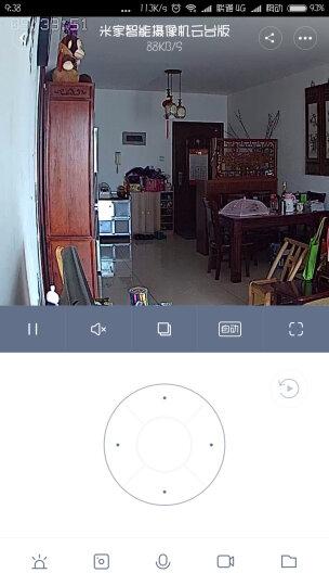 小米(MI) 摄像头智能监控摄像头360度全景侦测红外夜视1080P分辨率云台版 米家摄像机云台版1080P 晒单图