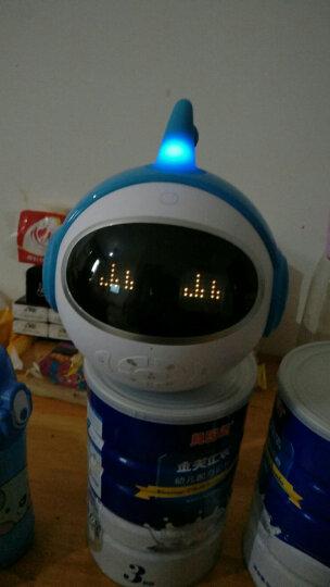 未来小七 儿童早教智能机器人 语音对话亲情群聊人机互动 骑士蓝 晒单图