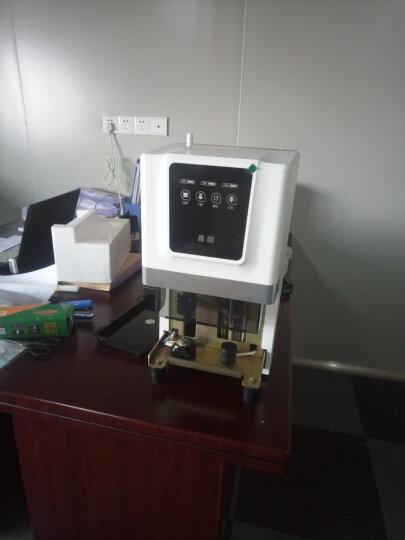 惠朗(huilang)50M自动财务凭证装订机50mm 触控按键 晒单图