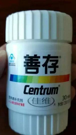 善存(Centrum) 佳维片 复合维生素 1.33g*30片(新老包装随机发放) 晒单图