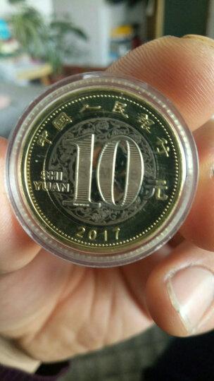 金永恒2017年鸡年纪念币 鸡年生肖流通纪念币原卷拆品相硬币收藏 单枚带小圆盒 晒单图