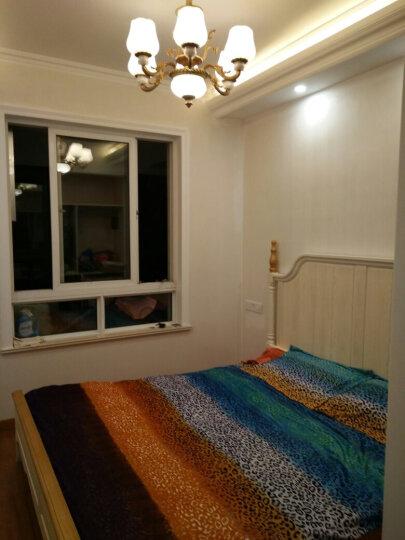 林中漫步 床 1.8米实木床简欧式家具 1.5米白蜡木主卧高箱储物床 单床+1个床头柜 1800mm*2000mm(普通款) 晒单图