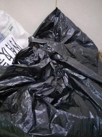 斯珂林(sikelin) 斯珂琳 大号垃圾袋黑色一次性垃圾袋物业酒店加厚工业型特大号纸篓袋酒店垃圾桶 长90宽100*100个装 晒单图