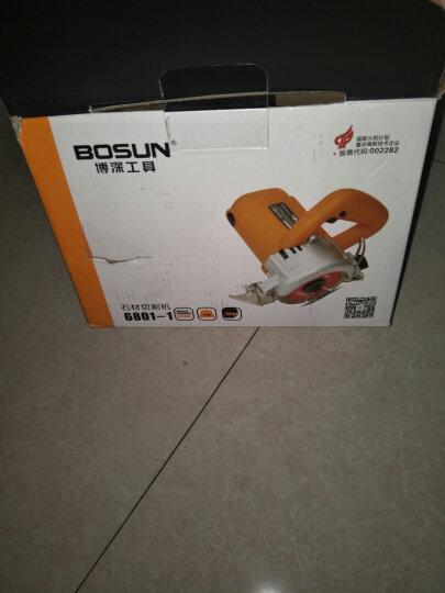 博深 (Bosun) 6801-1石材切割机云石机电圆锯开槽机瓷砖石材大理石切 晒单图