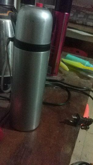 先行 保温杯304不锈钢户外便携子弹头水杯保温壶学生杯500ml 银灰色500ml 晒单图