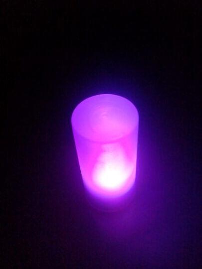 七彩声控蜡烛灯 晒单图