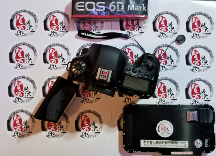 佳能(CANON)EOS单反相机热靴保护盖5D4 5D3 5DSR 760D机顶保护盖 佳能热靴盖定制限量版 晒单图