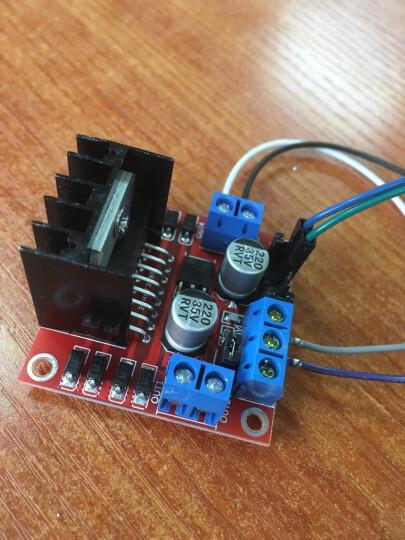 TaoTimeClub L298N电机驱动板模块 直流步进电机机器人智能车 晒单图