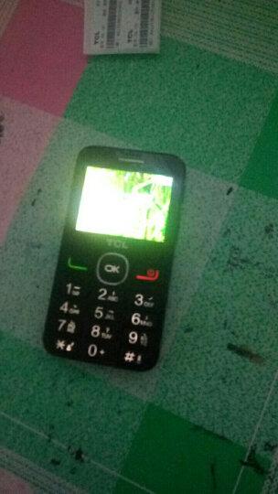TCL 老人手机 121 黑色 移动联通2G手机 双卡双待 晒单图