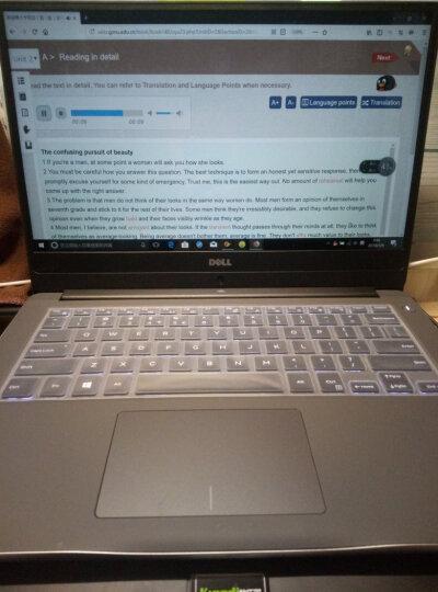 戴尔DELL灵越燃7000 II 14.0英寸轻薄窄边框笔记本电脑(i5-8250U 8G 256GSSD IPS Win10)银 晒单图